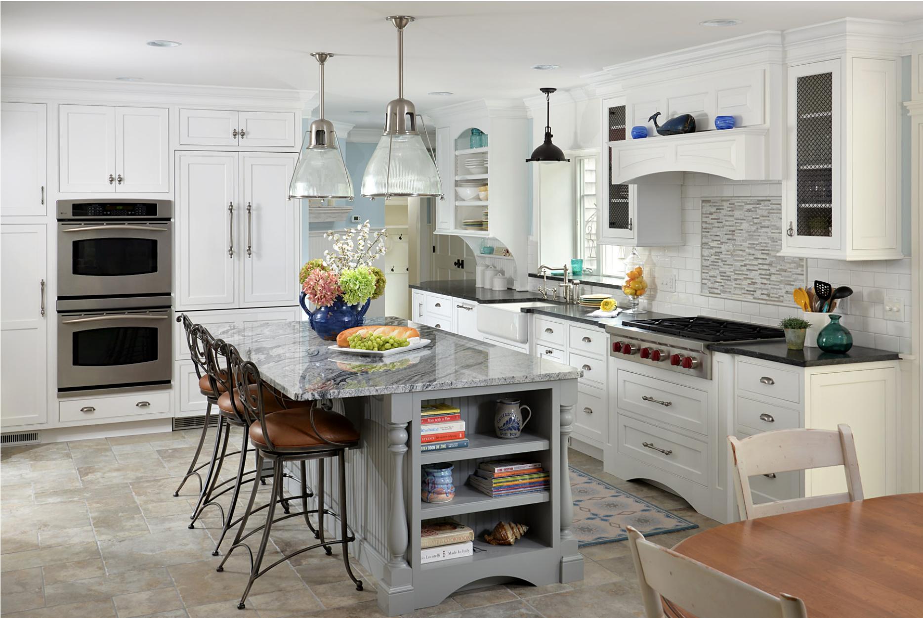 New white cabinets in a Stuart, FL kitchen